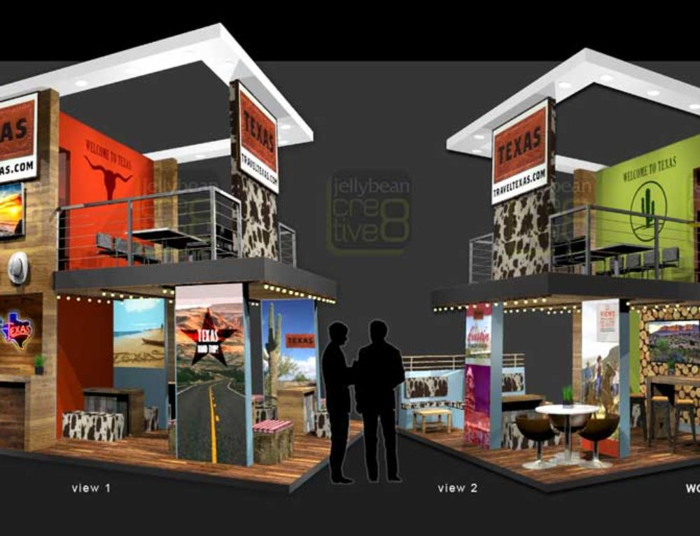 Texas Tourism Exhibition Booth Designs – World Travel Market (WTM) ExCel London