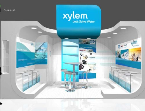 Xylem Water Solutions – Southampton Boat Show Exhibition Booth Design