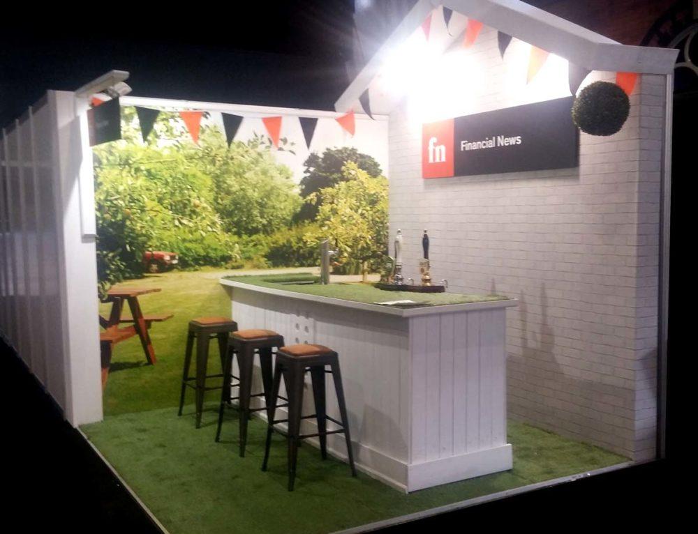 Financial News – Garden Pub Booth at PLSA Manchester