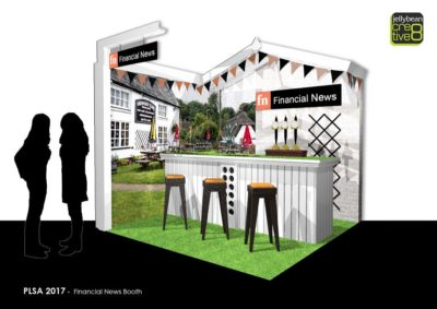 PLSA Conference Garden Pub Themed Exhibition stand