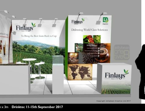 Finlay Beverages Exhibition Stand Tender – Drinktec 2017 Messe Munchen, Munich Germany