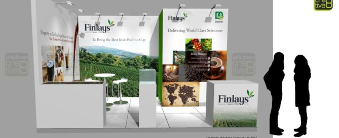 Finlays Exhibition Stand Drinktec Tade Fair Germany