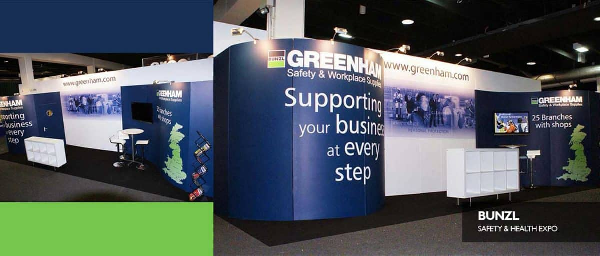 Exhibition Stand Health And Safety : Bunzl greenhams safety health exbibition exhibition