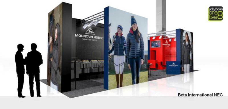 Bespoke Design & Build Mountain Horse Exhibition stand