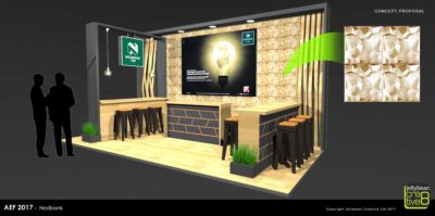 Exhibition Stand Design Nedbank Africa Energy Forum Copenhagen