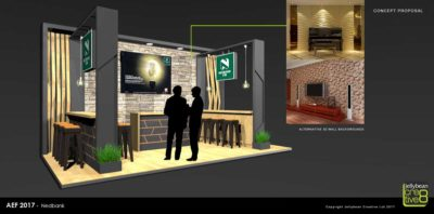 Exhibition Concept Design Nedbank African Energy Forum Copenhagen Exhibition stand design