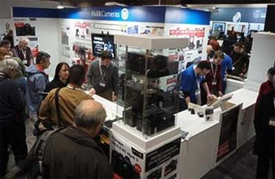 SWPP Exhibition stand for photographic retailer Park Cameras