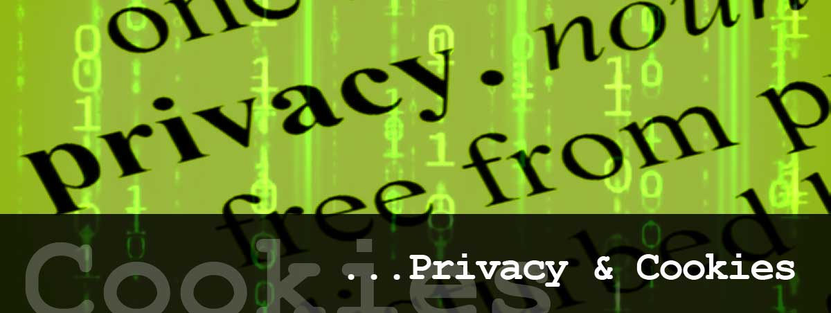 Privacy & cookie website policy