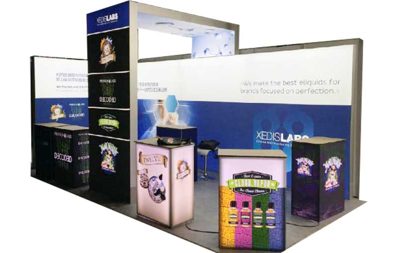 Expomod modular exhibition display stand