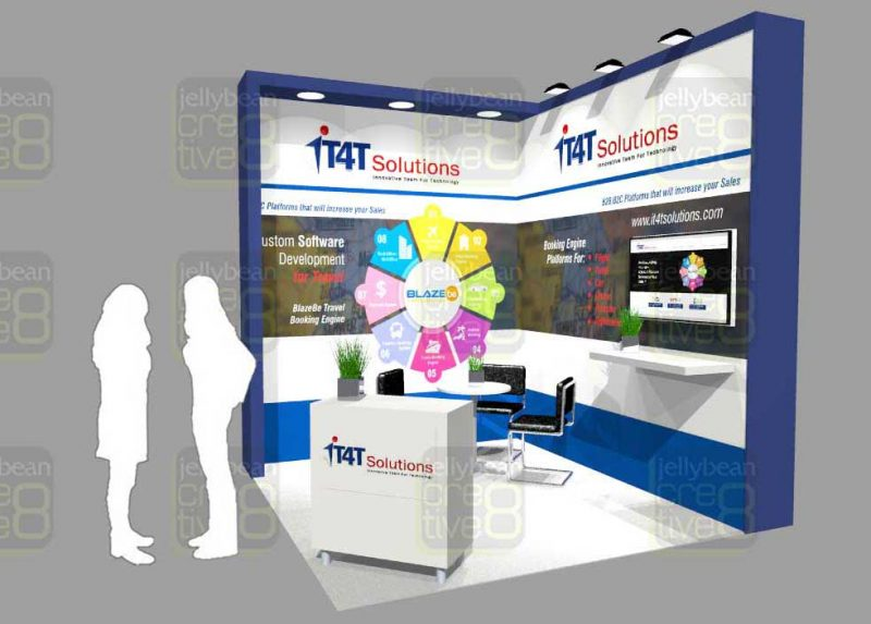 BOOKING SOFTWARE WTM BOOTH DESIGN LONDON UK