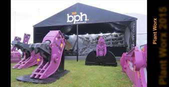outside tradeshow events marquee BPH Plantworx