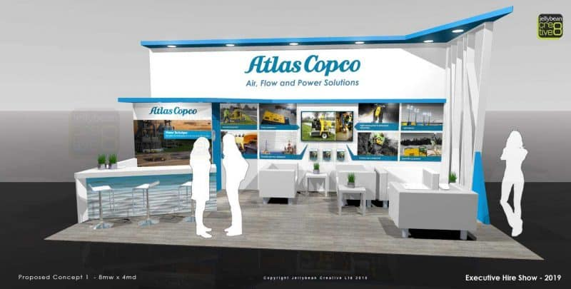 Exhibition booth design UK USA