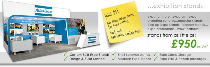 Exhibition Stand Builders & Exhibition Stand Designers UK