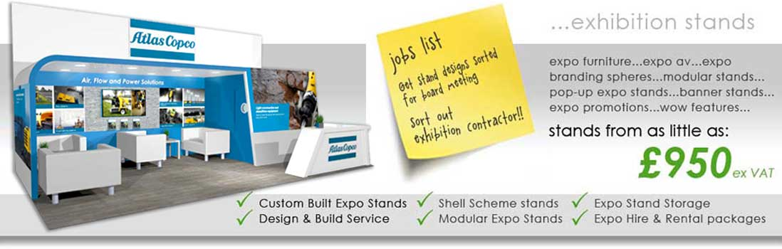 Exhibition stand design & exhibition stand builders