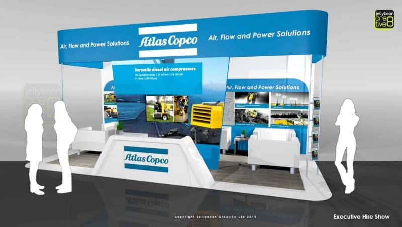 Exhibition stand designs for UK Europe USA
