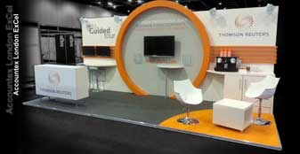 Exhibition stand design & custom exhibition stand builders Accountex