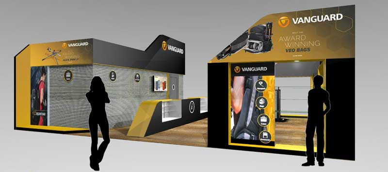 Vanguar exhibition stand design conepts photography show NEC