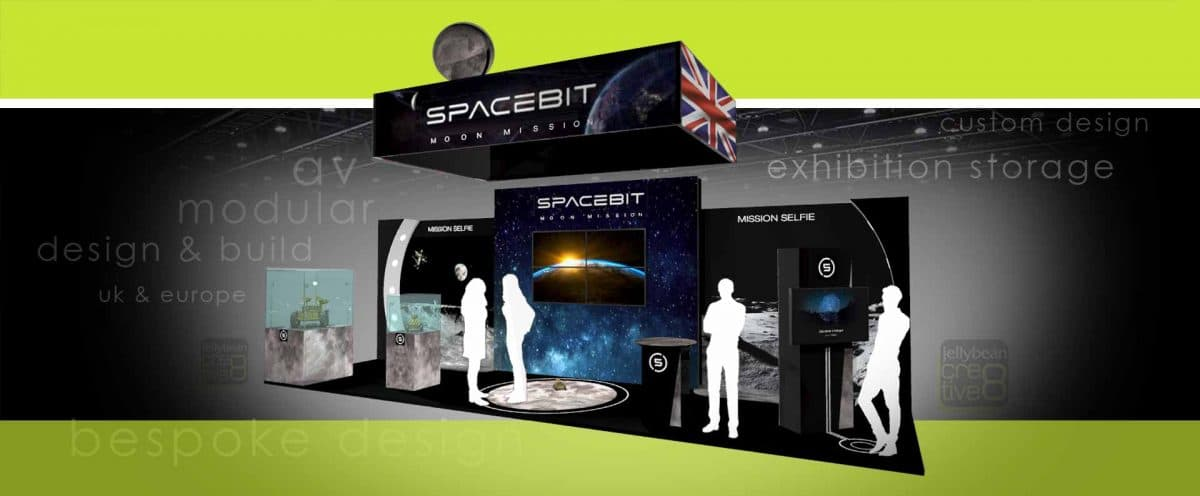 Exhibition Stand Design for Spacebit UK